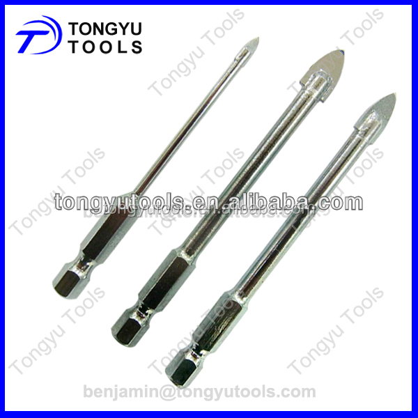 Tungsten Carbide Tipped Glass Drill Bit for Ceramic Tile
