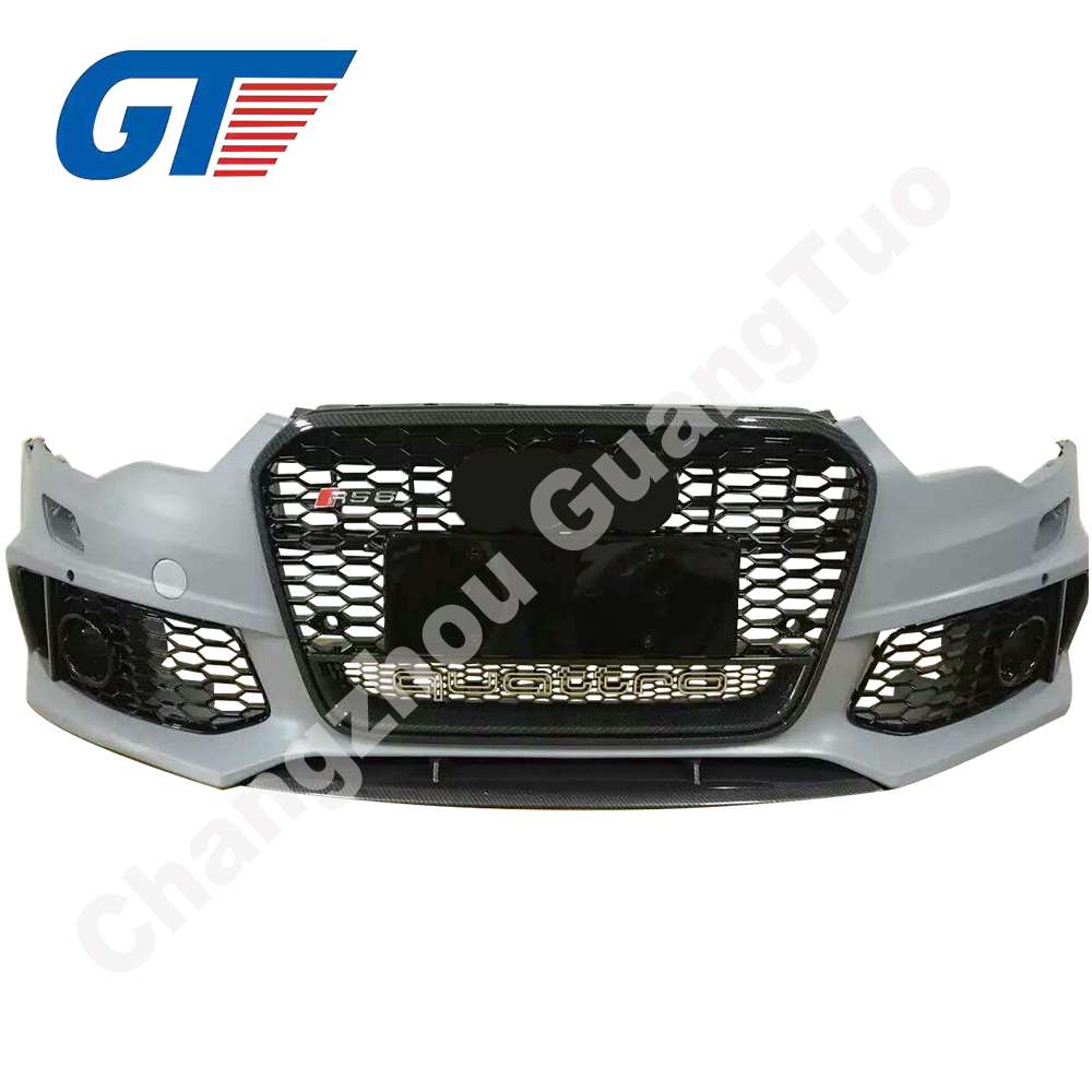 Front bumper for Audi A6 RS6 with all accessories