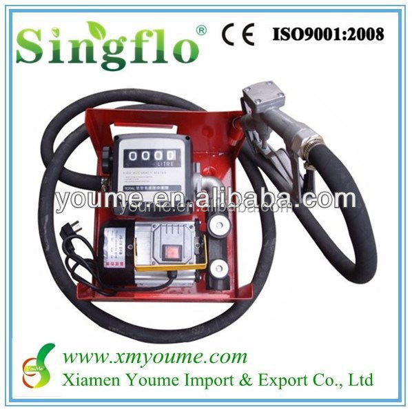 Singflo DC 40l/min oil pump price of diesel water pump set/portable diesel engine water pump set