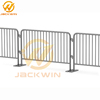 Removable Flat Feet Galvanized Events&Sport Metal barriers Iron Crowd Control Barrier