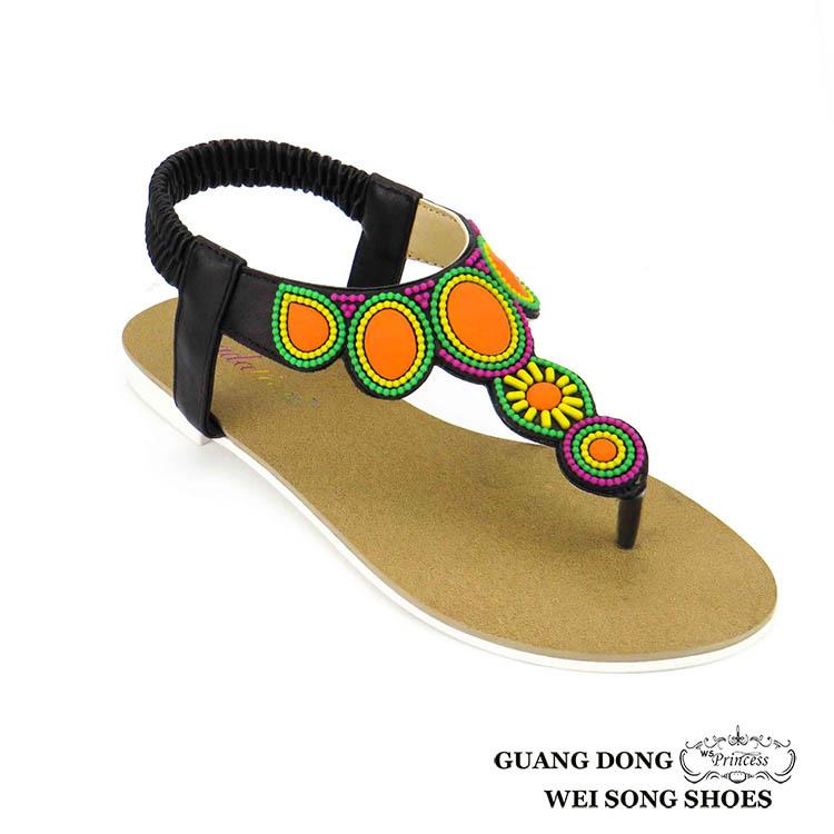 0f82b8cfc6f47 new model national style Summer tpr lady dress shoes wedding flip flop  sandal women sandals 2018