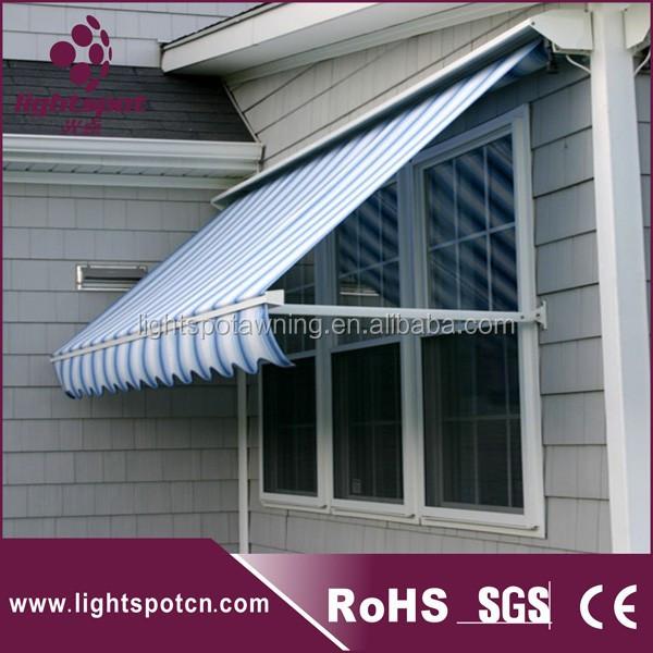 Classical Drop Arm Sun Shade Window Folding Arm Awnings Bat Wing ...