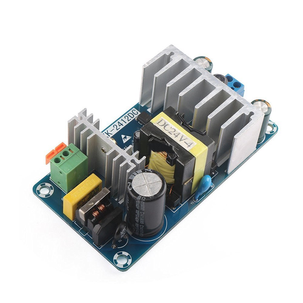 SavvyTec AC to DC Converter AC 85 ~ 265V to DC 12V 8A Industrial Module Switching Power Supply Board// AC to DC Converter AC85-265V to 12V MAX 8A 100W Power Supply Isolation Module