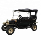 Original manufacturer 4 passenger golf course 4 wheel electric car