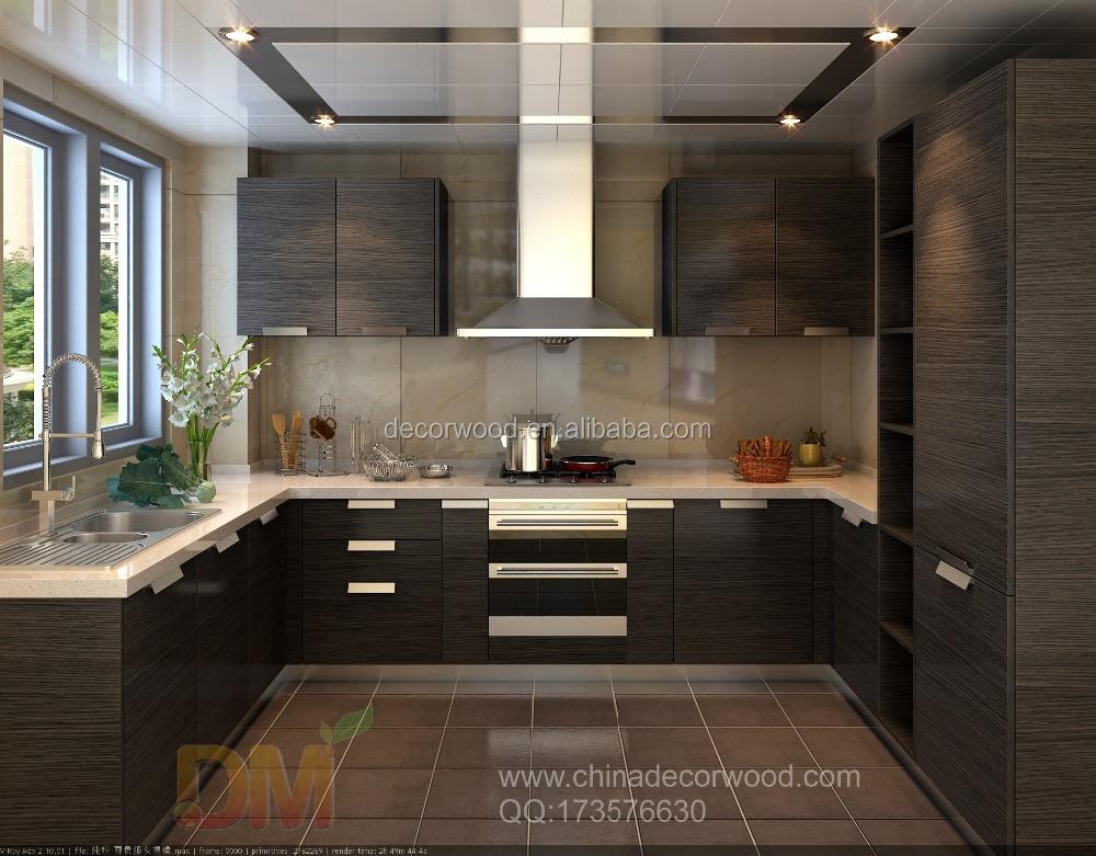 3d Max Rendering Black Kitchen Interior Design - Buy Black Kitchen  Design,Wall Cupboard Design,Design Home Kitchen Product on Alibaba com