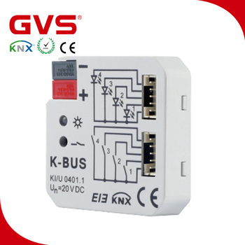 knx eib smart automation home building knx 4 fold universal interface buy smart home. Black Bedroom Furniture Sets. Home Design Ideas