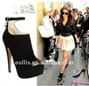 2012 New Design Guangzhou Sexy Lady Platform Pump Womens Stiletto High Heels Shoes