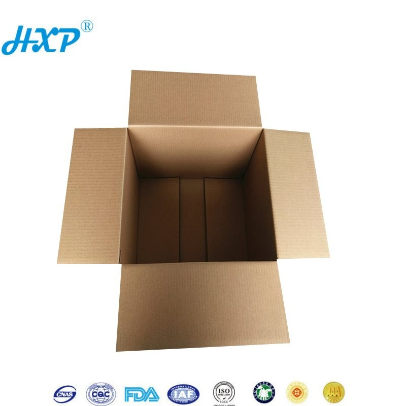 Cardboard corrugated paper moving boxes for packing  corrugated paper packaging box