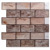 Brick design peel and stick kitchen backsplash wall tile vinyl mosaic sticker