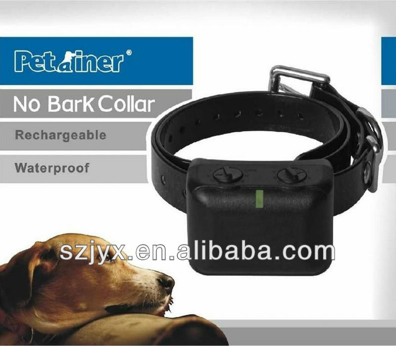 JY851 anti bark waterproof rechargeable battery adjustable slave remote control dog training vibrating shock collar