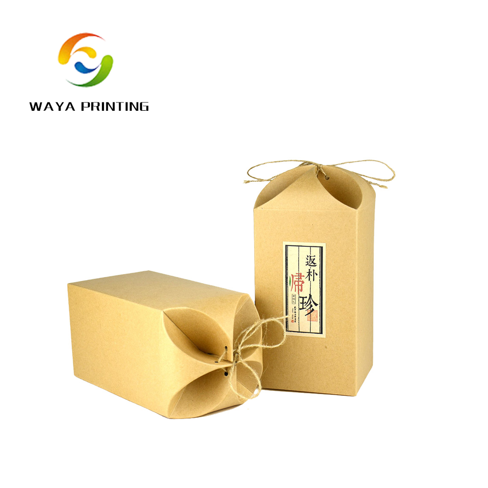 Supply factory good quality kraft foldable paper <strong>box</strong>