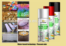 water based aerosol spray paint environment friendly water-based paint highlight effect Free Sample