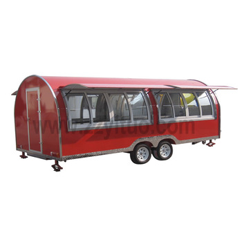 Mobile ice cream car hot dog food cart food trailer for sale europe
