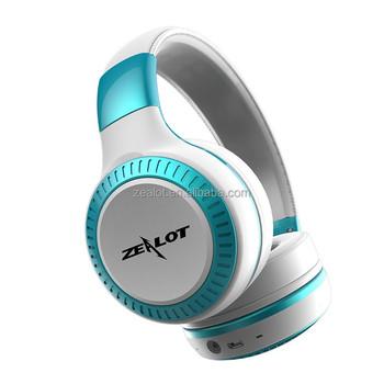 8db375eabe2 2018 New design Bluetooth Headphone ZEALOT B20, View headphone with ...