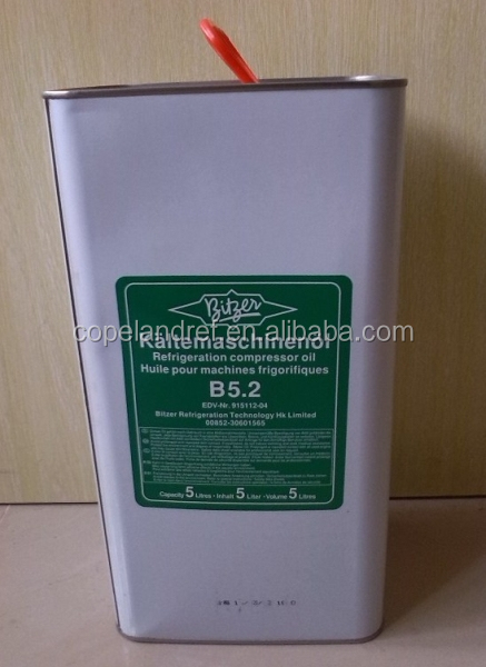 R22 Refrigerant For Sale >> High Quality Bitzer Refrigeration Lubricant Oil B5.2 Use For Bitzer Compressor - Buy Bitzer ...