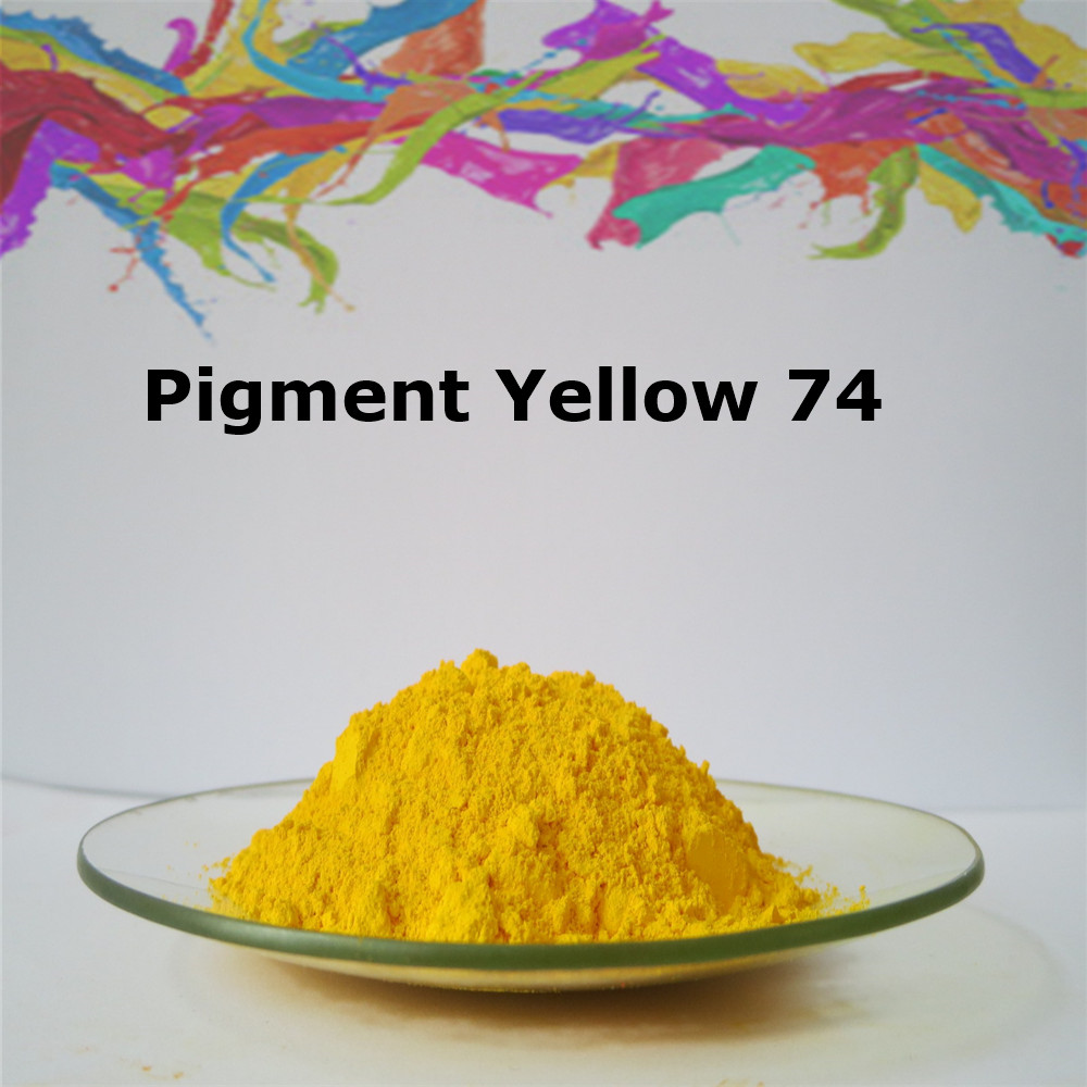 Chemical Dry Powder Organic Pigment Yellow 74 Used in Paint