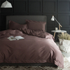 Bamboo Flat Sheet Duvet Cover Sets 4pcs Super Soft Bamboo Sheets Bedding Set