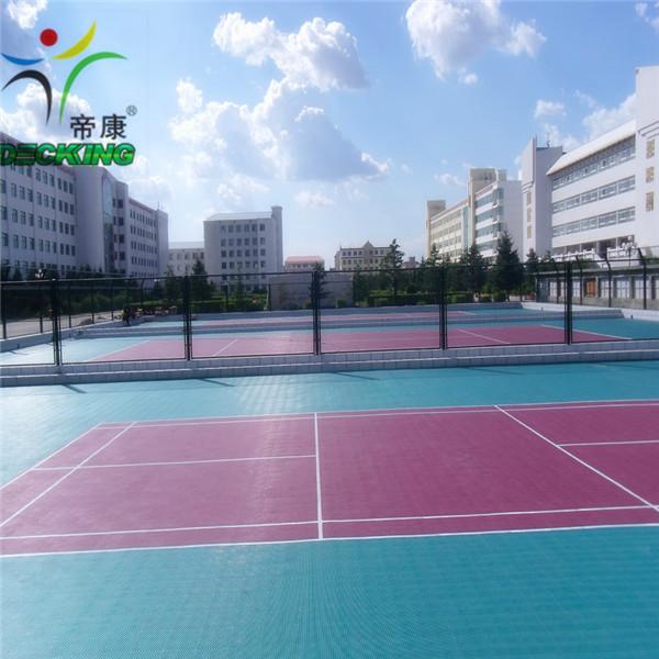 Sport court used interlocked floor tile price buy floor for Sport court pricing