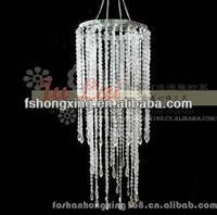 fashion acrylic chandelier for wedding favor and home decoration