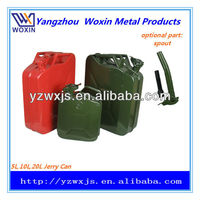 Water-resistant Metal diesel fuel can USA-style 20Litre