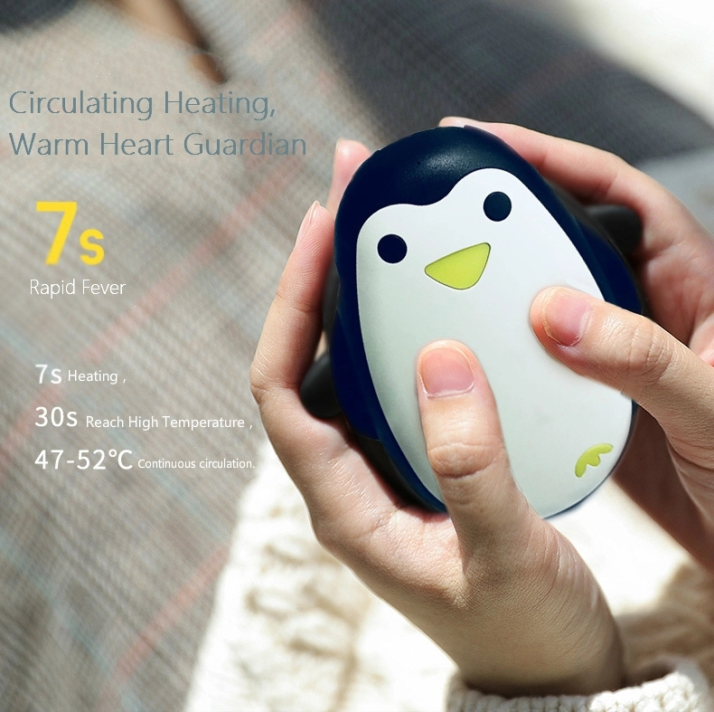 3000mAh Mini Portable Warm Up Power Bank Elec. usb Rechargeable Hand Warmer