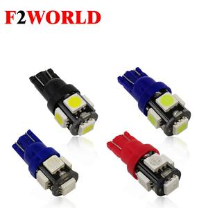 Perfect LED w5w 5smd 12v car wedge flasher bulb indoor light t10 e26 led T10 5 SMD 5050 headlight