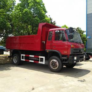 Good Price DONGFENG 153 4*2 190hp 10 ton used tipper truck dump truck for sale myanmar
