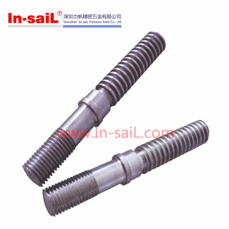 China Fastener Steel Two Sided Screw Manufacturer