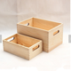 wholesale latest design nike wooden shoe box with hinged lid and custom logo