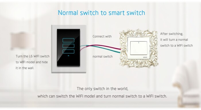 Australia Standard Wi-fi Led Dimmer Light Switches For Smart Home ...