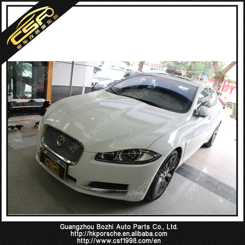 Impressive body kit for Jaguar XF in XFRX style with PP + CF