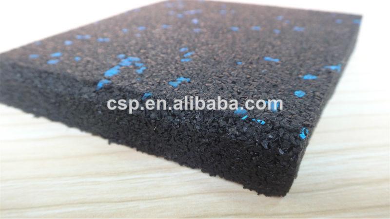 Qingdao csp de alta densidad crossfit gimnasio alfombra de goma del piso suelos de caucho - Alfombra de goma para piso ...