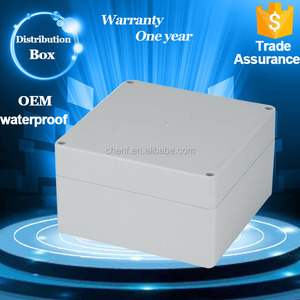 CF-5 distribution box waterproof plastic enclosure 160*160*90 mm flameproof plastic project box with cable gland
