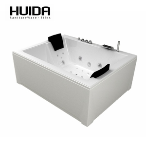 HUIDA freestanding bathtub air switch 2 person jetted bathtubs