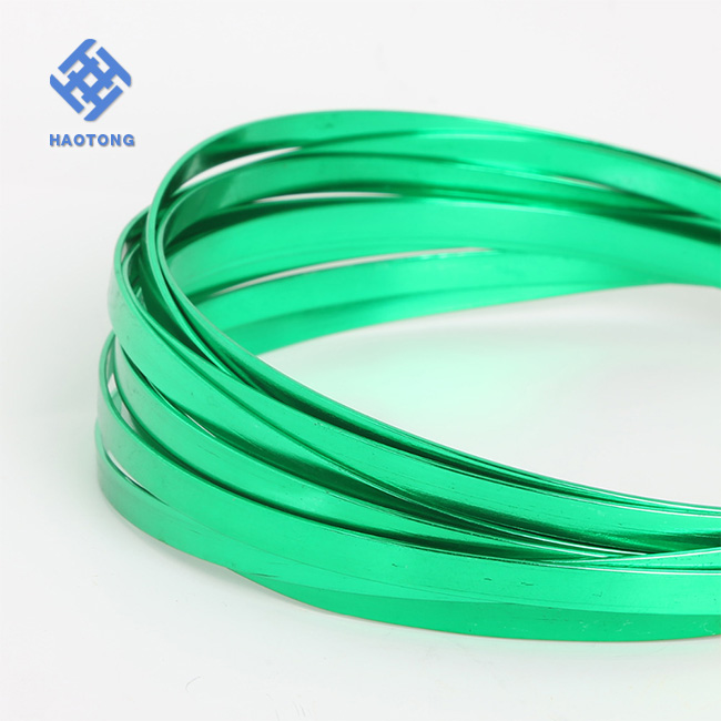 Wholesale Jewellery Craft Flat Copper Wire Tape Silver Plated Gold ...