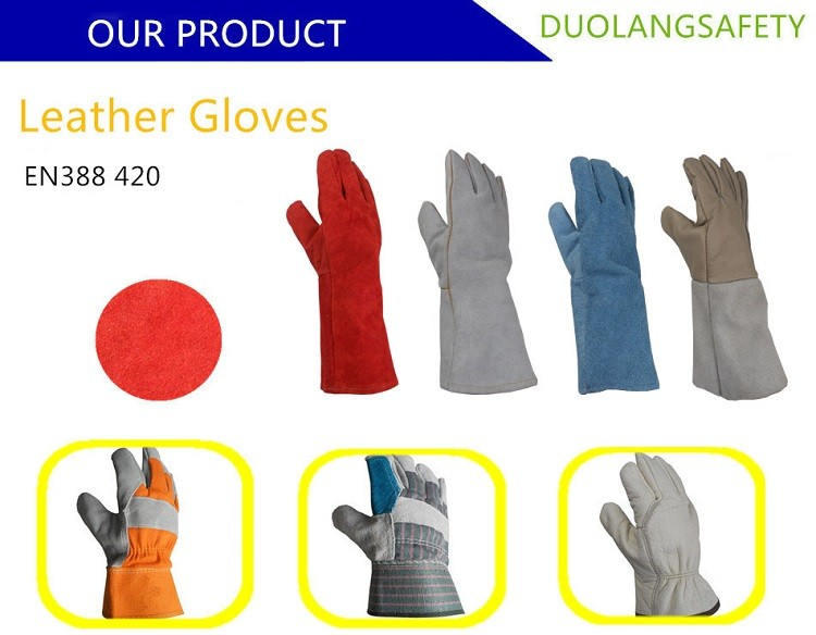 Leather Archery Gloves Leather Working Welding Gloves