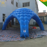 Customized advertisement inflatable spider tent for trade show