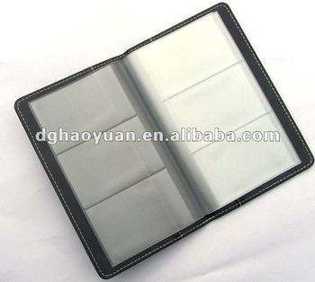 Hot Sales Pu Leather Pocket Vertical Business Card Holder Buy