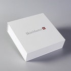 High Quality White Magnetic Cosmetic Packaging Paper Box with Pearl Foam