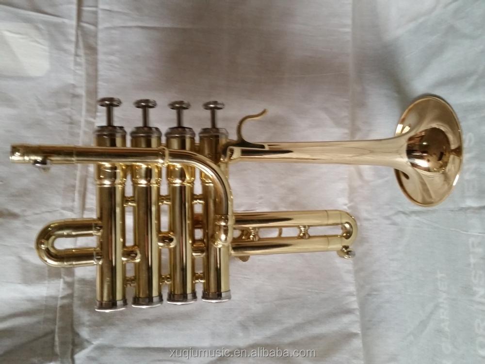 china brass instruments mini piccolo trombone for sale buy piccolo trombone piccolo trombone. Black Bedroom Furniture Sets. Home Design Ideas