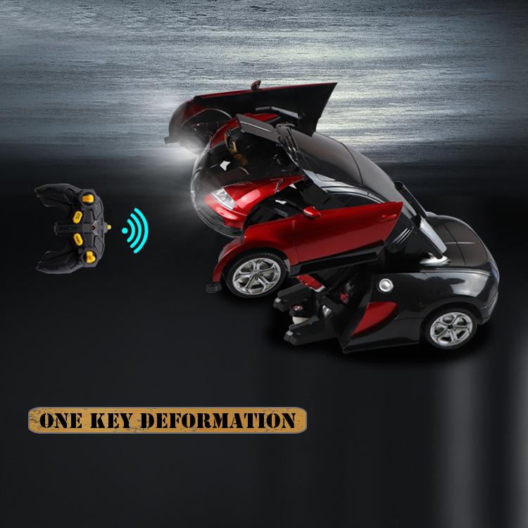 Offre Spéciale garçon télécommande jouets voiture rc de haute qualité robot jouet déformation danse super robot voiture pour enfants