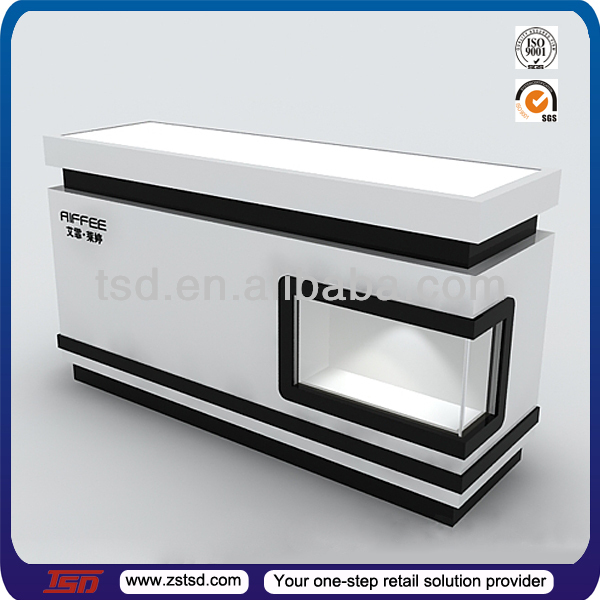 Tsd-w908 Custom High Quality Wooden Cash Counter,Shop Cash Counter ...