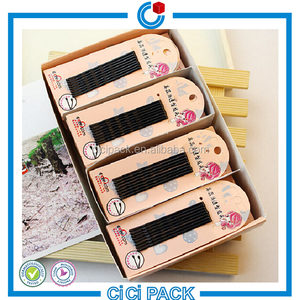 Chinese beauty traditional bobby hair pin back card wholesale
