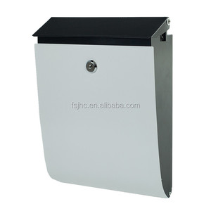 Fence mailbox in garden|mounted waterproof mail box for fence