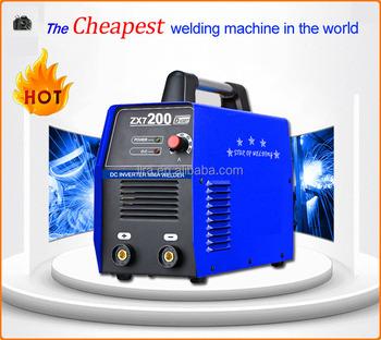 Biru Busur Manual Mesin Las Zx7 200 Inverter Tukang Las Buy