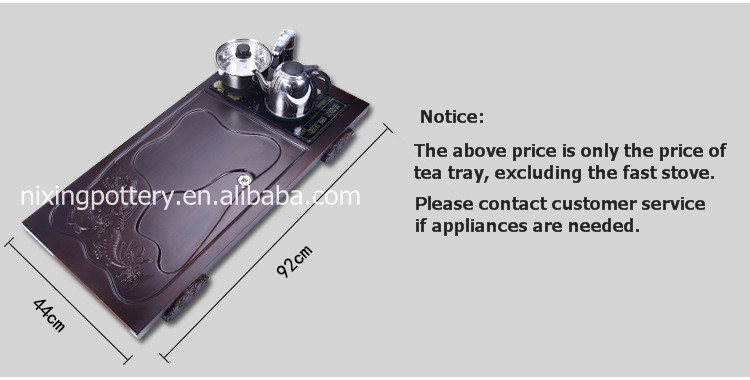 Wholesale Serving Wooden Tea Tray Traditional Chinese Tea Trays