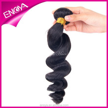 Enoya Hot Sale Natural Color Loose Wave Hair Bundles Cheap peerless Peruvian Human Hair Weft