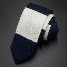 special point end poly knitted ties