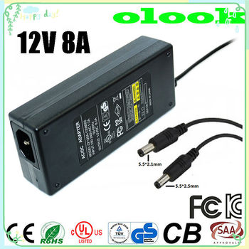 Switching Power Adapter 12v 8a Power Supply 12v Dc 8a Used For Led ...