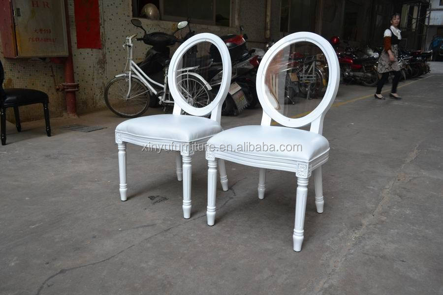View white wedding chair
